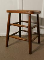 Beech & Elm Farmhouse Kitchen Stool (5 of 5)