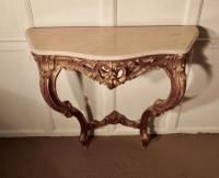 Old French Gilt Console or Hall Table (5 of 6)