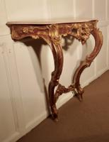 Old French Gilt Console or Hall Table (2 of 6)