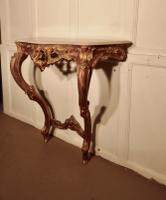 Old French Gilt Console or Hall Table (6 of 6)