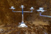 James Dixon & Sons Three-Branch Silver Plated Candelabra (5 of 10)