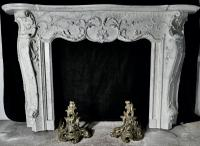 Large 19th Century Simulated Marble Adams Style Fire Place (4 of 7)