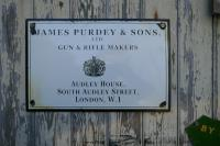 James Purdy & Sons Enamel Sign Wall Plaque