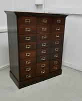 Large 24 Drawer Edwardian A4 Oak Filing Cabinet (2 of 11)
