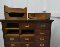 Large 24 Drawer Edwardian A4 Oak Filing Cabinet (4 of 11)