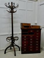 Large 24 Drawer Edwardian A4 Oak Filing Cabinet (6 of 11)