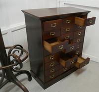 Large 24 Drawer Edwardian A4 Oak Filing Cabinet (7 of 11)