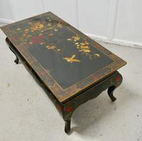 Painted & Lacquered Chinoiserie Coffee Table (5 of 7)