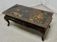 Painted & Lacquered Chinoiserie Coffee Table (6 of 7)