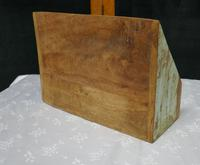 Distressed Industrial Look Desk Top Stationary Box Letter Rack (6 of 8)