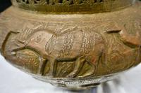 Large Early 19th Century North African Brass Jardiniere Pot (3 of 7)