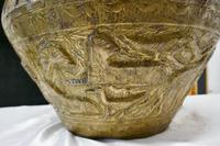 Large Early 19th Century North African Brass Jardiniere Pot (5 of 7)