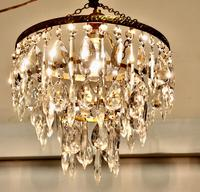 Charming Waterfall 3 Tier Pendant Chandelier (2 of 5)