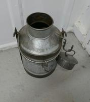 Large 19th Century Galvanised Metal Milk Churn with Iron Strapping (5 of 6)