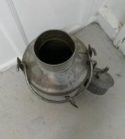 Large 19th Century Galvanised Metal Milk Churn with Iron Strapping (6 of 6)