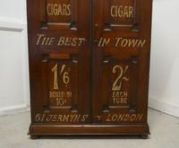 Victorian Humidor Painted For Cigar Store Display (7 of 9)