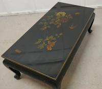 Painted & Lacquered Chinoiserie Coffee Table (7 of 9)