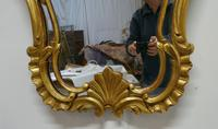 19th Century French Gilt Console Mirror (5 of 6)