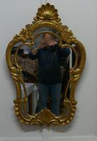 19th Century French Gilt Console Mirror (3 of 6)