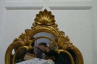 19th Century French Gilt Console Mirror (4 of 6)