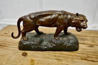Ferocious Bronze Tiger Statue (6 of 6)