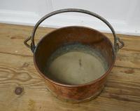 Beaten Copper & Brass Bucket Planter (3 of 4)