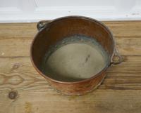 Beaten Copper & Brass Bucket Planter (2 of 4)