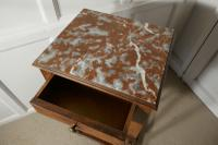 French Elm Night Table or Bedside Cupboard (3 of 4)