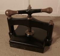 19th Century, Brass & Cast Iron Flower or Book Press (2 of 5)