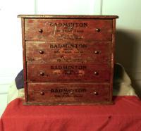 Badminton Boot & Shoe Lace Cabinet c.1900 (3 of 6)