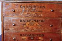 Badminton Boot & Shoe Lace Cabinet c.1900 (4 of 6)