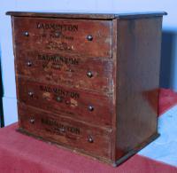 Badminton Boot & Shoe Lace Cabinet c.1900 (5 of 6)