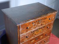 Badminton Boot & Shoe Lace Cabinet c.1900 (6 of 6)
