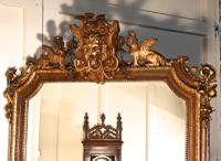 Very Large French Mirror, Winged Sphinx & Lyons Mask Crest (2 of 6)