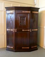 Progressive Arts & Crafts Wardrobe made by for Gillow Liberty (14 of 14)