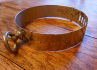 Important 19th Century French Nickel Silver Hunting Dog Collar, Engraved Provenance (2 of 9)