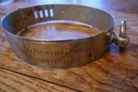 Important 19th Century French Nickel Silver Hunting Dog Collar, Engraved Provenance (9 of 9)