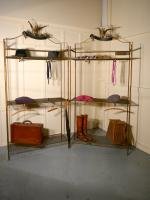Art Deco Outfitter'S Department Store Shop Display Shelf Units