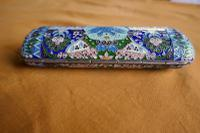 Russian Silver Cloisonné Imperial Eagle Cigar Case (3 of 11)