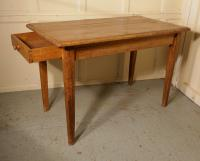 Victorian Planked Top Farmhouse Kitchen Pine Table (2 of 6)