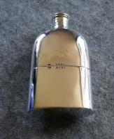 Solid Silver Hallmarked Pocket or Hip Flask & Cup Date 1888 (7 of 7)