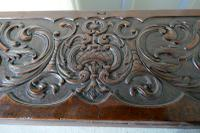 17th Century Carved Oak Sword Chest on Stand (3 of 10)