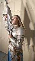 Life Size Sculpture, Joan of Arc From a French Cathedral (6 of 19)