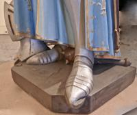 Life Size Sculpture, Joan of Arc From a French Cathedral (17 of 19)
