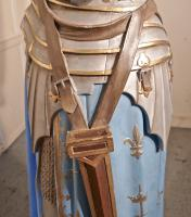 Life Size Sculpture, Joan of Arc From a French Cathedral (18 of 19)