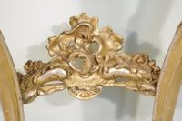 19th Century French Gilt Console Table with Marble Top (5 of 13)