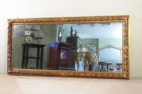 English Gilt Overmantle Mirror c.1880
