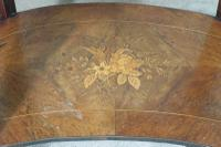 French Ormolu Mounted Kingwood Work / Vanity Table with Parquetry & Marquetry Inlay (18 of 20)