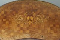 French Ormolu Mounted Kingwood Work / Vanity Table with Parquetry & Marquetry Inlay (15 of 20)