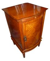 Edwardian Inlaid Satinwood Bedside (2 of 2)